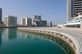 Promenade at Dubai Marina — Stock Photo