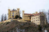 Hostoric Castle Hohenschwangau in Bavaria, Germany — Stock Photo