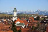 Village in Bavaria, Germany — 图库照片