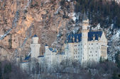 Amazing Neuschwanstein Castle in Bavaria, Germany — Stock Photo