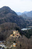 Historic Castle Hohenschwangau, Germany — Stock Photo