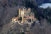 Historic Castle Hohenschwangau in Bavaria, Germany — Stock Photo