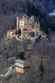 Historic Castle Hohenschwangau in Bavaria — Stock Photo