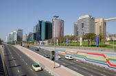Street in Dubai Deira — Stock Photo