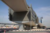 Metro Station in Dubai — 图库照片