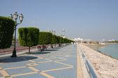 Promenade at Marina Mall in Abu Dhabi — Stock Photo