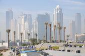 Construction Site in Dubai City — Stock Photo