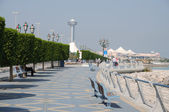 Promenade in Abu Dhabi — Stock Photo
