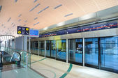 Metro Station in Dubai — Foto Stock