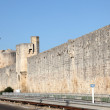Stock Photo: Ramparts of medieval town Aigues-Mortes, southern France
