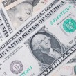 Dollar banknotes background — Stock Photo #7879142