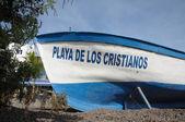 Playa de Los Cristianos. Canary Island Tenerife, Spain — Stock Photo