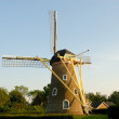 Windmill in the Netherlands - Stock Photo