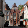 Street in Middelburg, the Netherlands - Stock Photo