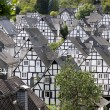 Half timbered houses in Freudenberg, Germany — Stock Photo