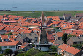Town Westkapelle in Netherlands — Stock Photo