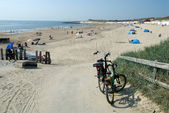 Beach in Zeeland, Netherlands — Stock Photo