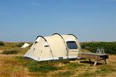 オランダでのキャンプ — ストック写真