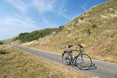 Equitazione bicicletta in olanda — Foto Stock