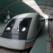 Maglev high speed train in Shanghai, China — Stock Photo #7908488