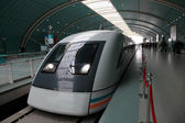 Maglev high speed train in Shanghai, China — Stock Photo