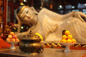 Buddha statue at Jade Buddha temple in Shanghai, China — Stock Photo