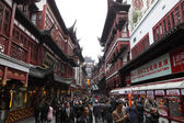 Yuyuan bazar in de oude stad van shanghai, china — Stockfoto