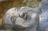 лежащий статуя будды в гонконге — Стоковое фото