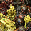 Chinese statuettes at souvenir shop in Shanghai — Stock Photo #7910762