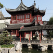 Traditional Chinese Building in Yuyuan Garden, Shanghai China — Stock Photo #7911063