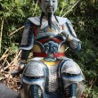 Statue at temple of the 10000 Buddhas in Hong Kong - Lizenzfreies Foto