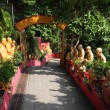 Temple of 10000 Buddhas in Hong Kong - Lizenzfreies Foto