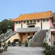 Buddhist temple in Tian Tan, Hong Kong, China - Foto Stock