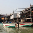 Fishing village Tai O at Lantau island in Hong Kong - Lizenzfreies Foto