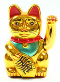 Lucky Chinese Cat — Stock Photo