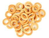 Delicious bread rings — Stock Photo