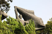 Old Socialistic Monument in Shanghai, China — Stock Photo