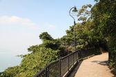 Victoria Peak Trail in Hong Kong — Stock Photo
