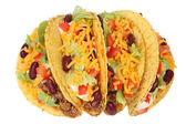 Deliciosos tacos mexicanos — Foto de Stock