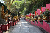 Temple of 10000 Buddhas in Hong Kong — Stock Photo