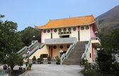 Buddhist temple in Tian Tan, Hong Kong, China — Stock Photo
