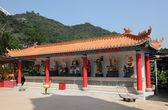 Храм 10000 Будды в Гонконге — Стоковое фото