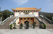 Buddhist temple in Tian Tan, Hong Kong, China — Stock Photo