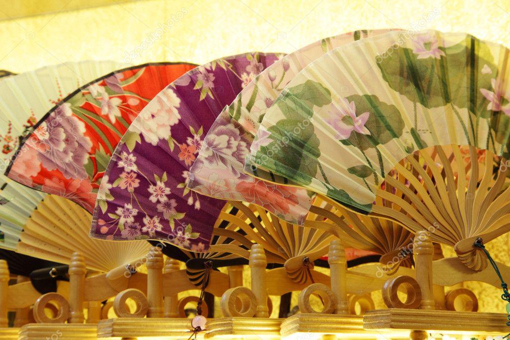 Traditional Chinese Fans Traditional Chinese Fans For Sale in Souvenir Shop