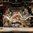 Stock Photo: V8 Motor of the Chevrolet Camaro SS from 1967