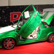 Foto de Stock  : Opel Tigrwith gull-wing doors from DTS Tuningstar