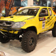 Stock Photo: ToyotPickup 4WD offroad