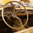 Interior of the 1958 Oldsmobile - Stock Photo