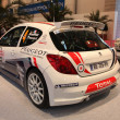 Peugeot 207 Super 2000 Racing Car — Stock Photo