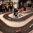Stock Photo: Slot Car Racing Racing Track